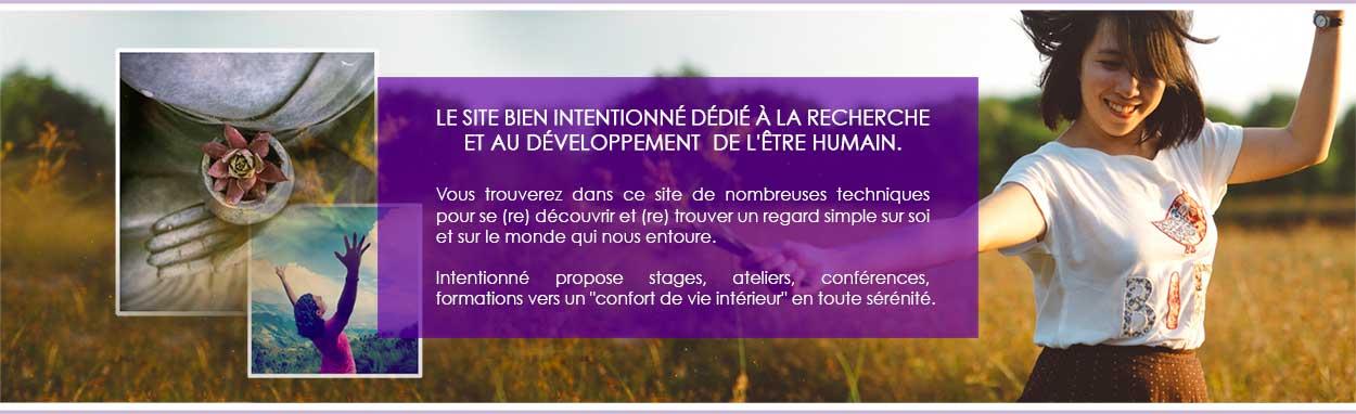 Le site bien intentionné dédié au développement personnel.